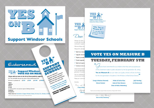 Windsor Unified School District Bond Measure Campaign Materials